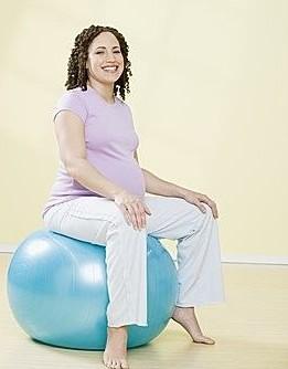 孕妇分娩球体操