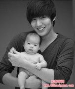 李敏镐为弃婴拍摄的公益广告