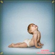 练瑜伽的宝宝