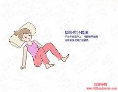 孕妈妈分娩姿势图