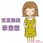 胎宝宝胎动图片【组图】
